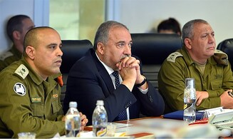 Liberman says he will begin vetting new Chief of Staff