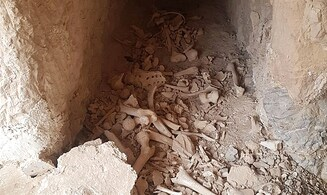 Ancient Jewish burial tomb desecrated by Arab grave-robbers
