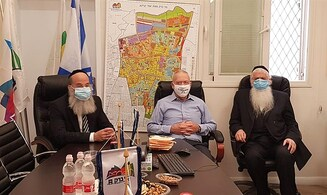 Galant to haredi leaders: There is no such thing as 'red cities'