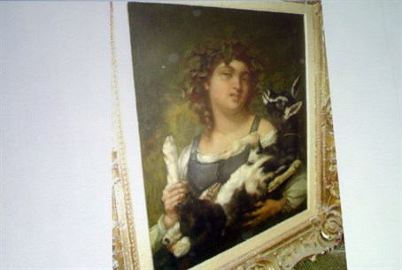 Stolen artwork seized by the Nazis
