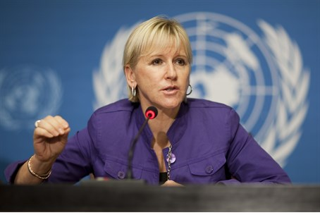 Swedish Foreign Minister Margot Wallstroem