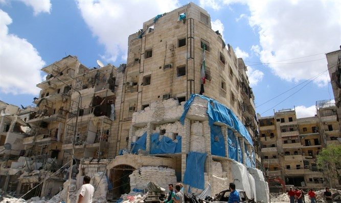 Aleppo hospital hit by Assad regime airstrikes