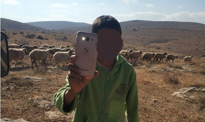 Arab shepherds surround Jewish town