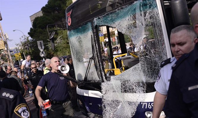 Bus bombed in Tel Aviv