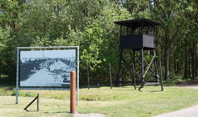 The Westerbork transit camp
