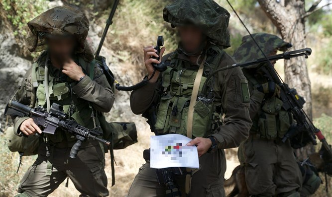 IDF forces in midst of exercise