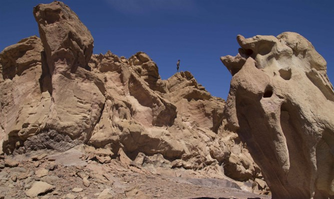 Cliff in Sinai