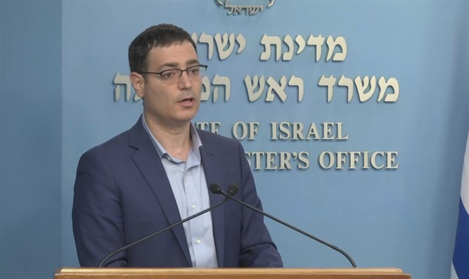 Health Ministry director Moshe Bar Siman Tov