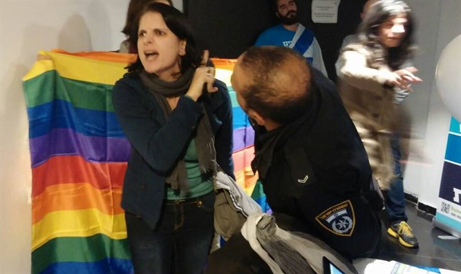 LGBTs crash Jewish Home event (file)