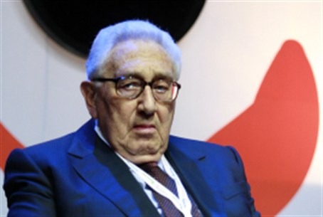 Henry Kissinger in Israel, 2008