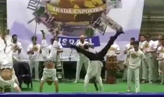Watch: Israeli ambassador wows with capoeira skills