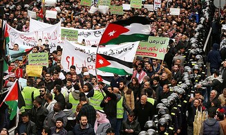 Jordanians protest against gas agreement with Israel