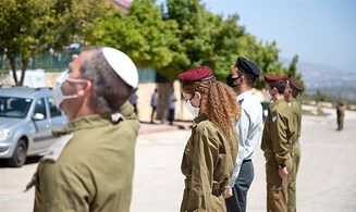 Fallen IDF soldiers Eliraz Peretz and Roi Klein saluted at their homes