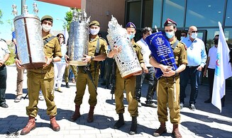 Largest IDF synagogue to date opens