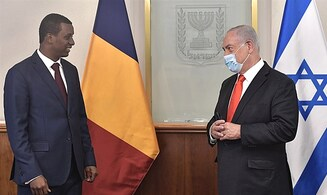 Netanyahu meets with senior Chad officials