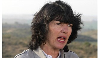 Amanpour's blood libel of the month