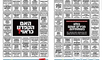 New ad for Haredi sector 'names' coronavirus victims