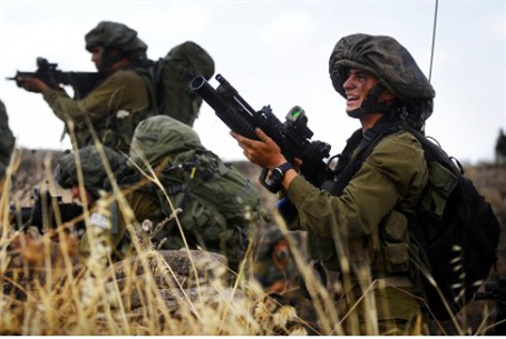 Nahal Brigade exercise