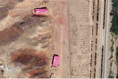 Parchin site -- aerial view