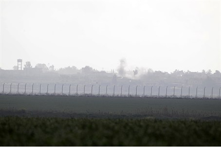 Israel-Syria ceasefire line on Golan Heights