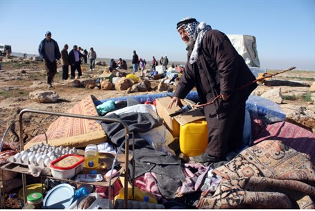 Arab encampment in Susiya