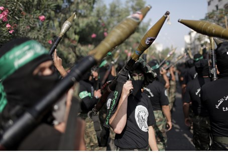 Hamas terrorists (illustration)