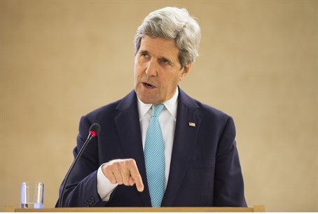 John Kerry speaks at UNHCR