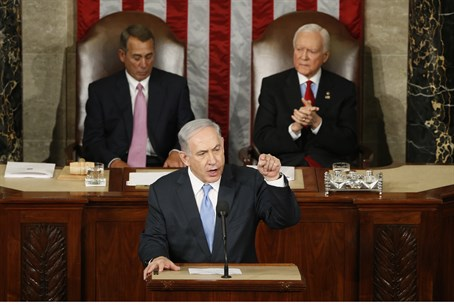 Netanyahu addresses Congress