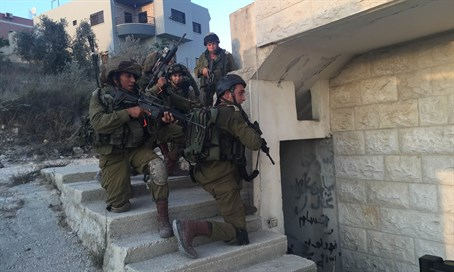 IDF during terror drill