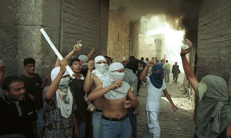 Arabs riot in the Old City (archive)
