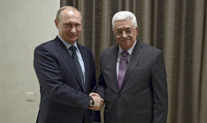 Putin and Abbas (archive)