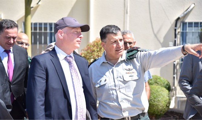 Greenblatt at Gilboa Crossing