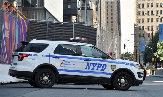 New York police vehicle