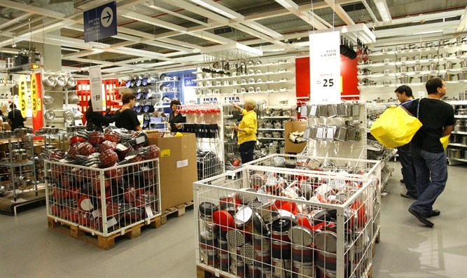 IKEA to reopen its branches - Israel National News