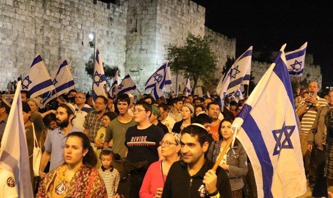 Last year Tisha b'Av Walk