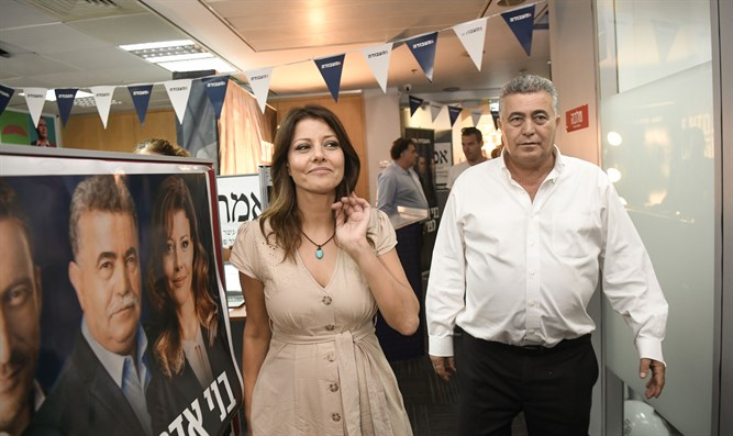 Amir Peretz and Orly Levy-Abekasis