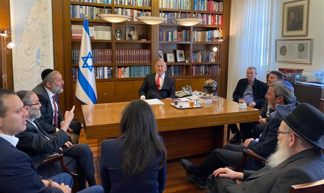 Right-wing leaders meet Netanyahu on Tuesday