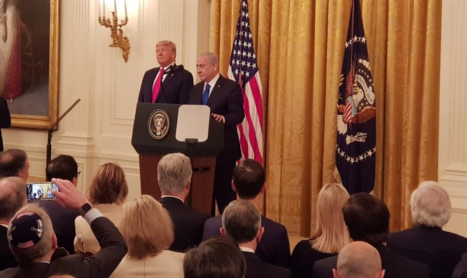 Trump, Netanyahu at White House