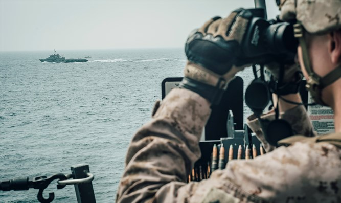US Marine observes Iran fast attack craft in Strait of Hormuz