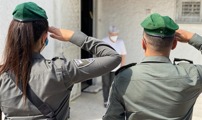Border Police salute Survivors