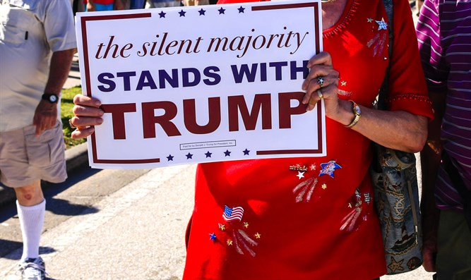 'Silent majority with Trump'