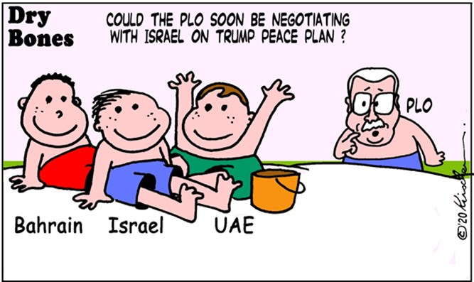 Dry Bones - Is Abbas feeling left out?